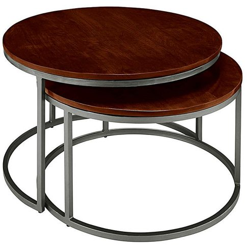Java Assembled Set Of 2 Coffee Tables
