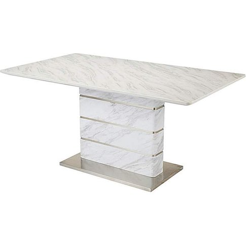 Mason Marble Effect Dining Table