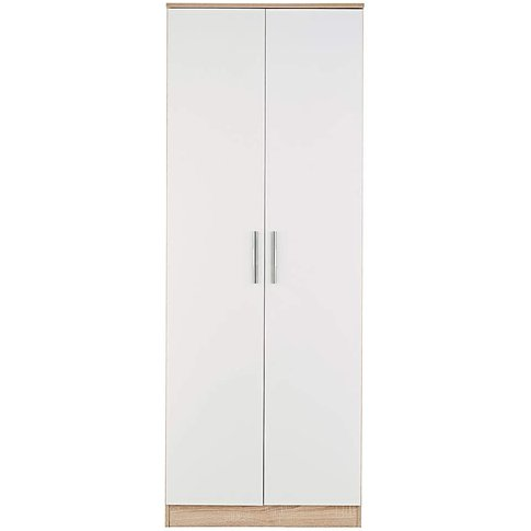 Leo Gloss Assembled 2 Door Wardrobe