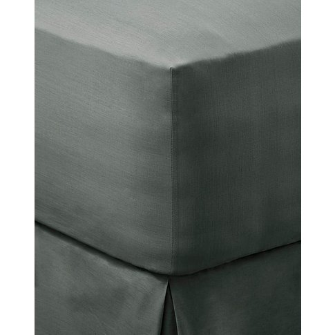100% Cotton Percale 200 Tc Fitted Sheet