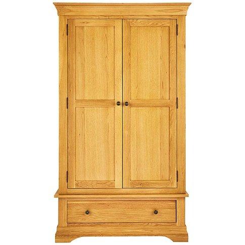 Malvern 2 Door 1 Drawer Wardrobe
