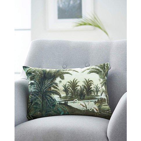 Velvet Palm Cushion