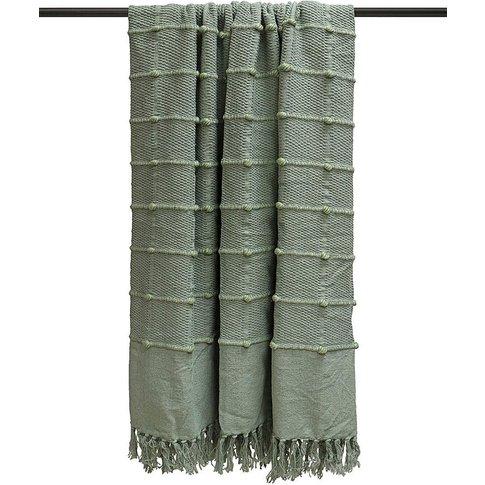 Motti Textured Cotton Throw