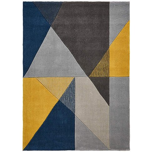 Trio Triangles Hand Tufted Rug