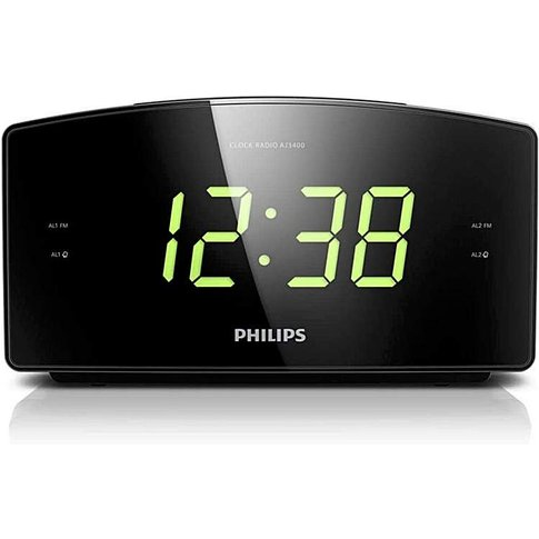 Philips Clock Radio With Fm
