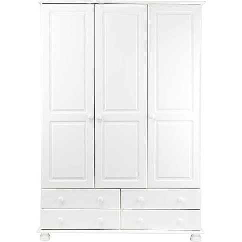 Stamford 3 Door 4 Drawer Wardrobe