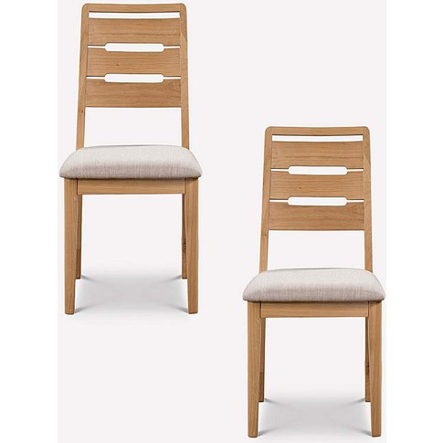 Pair Of Malmo Curve Dining Chairs