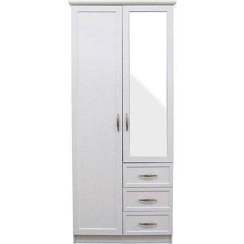 Kingston 2 Door 3 Drawer Wardrobe
