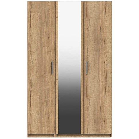 Lugo 3 Door Wardrobe With Mirror