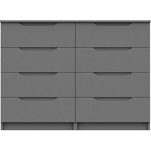 Sorrento Assembled 4 Plus 4 Drawer Chest
