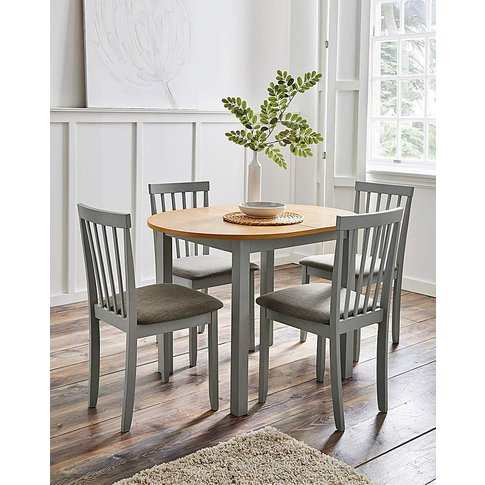 Salcombe Dining Table With 4 Chairs