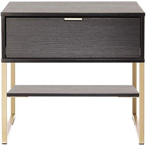 Kadence Assembled 1 Drawer Bedside Table