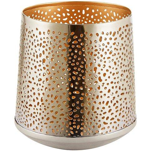 Gold Tealight Holder