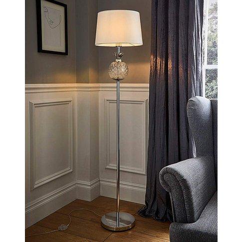 Glass Pineapple Floor Lamp