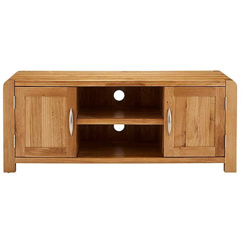 Hendon Oak Large Tv Unit
