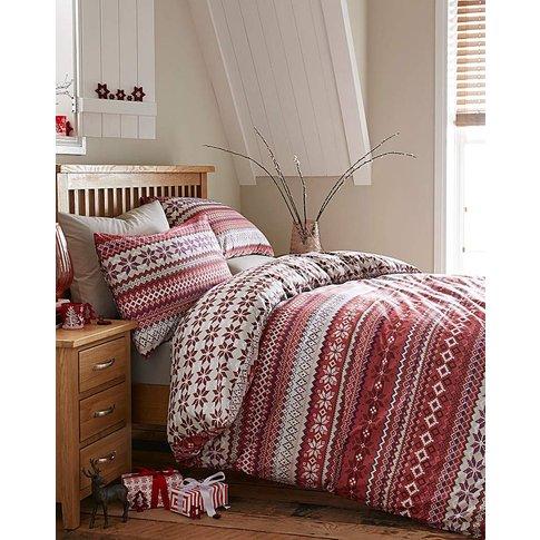 Fairailse Red Duvet Cover Set