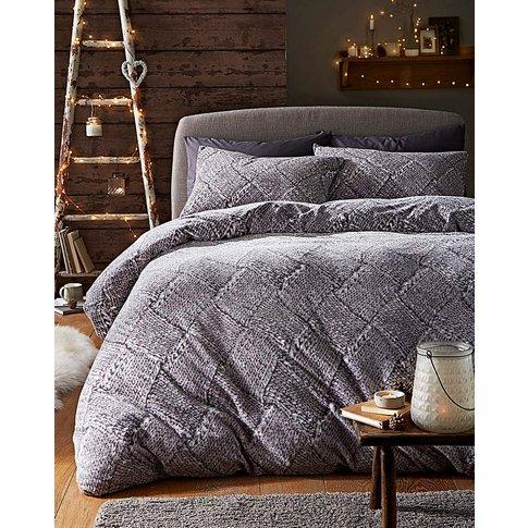Nordic Cuddle Fleece Duvet Cover Set