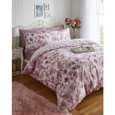 Lily Pink Reversible Duvet Set