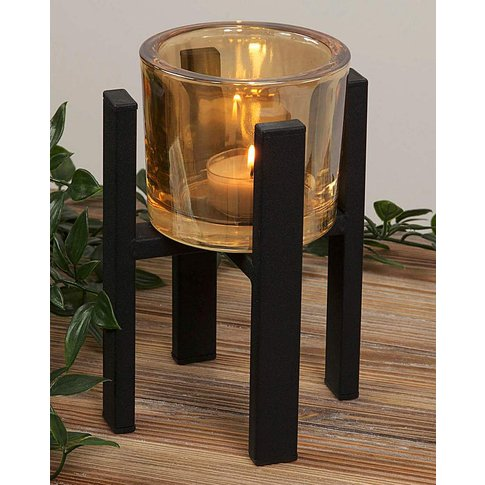 Hestia Single Tealight Holder 15cm