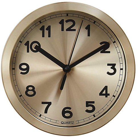 Elko Wall Clock Gold