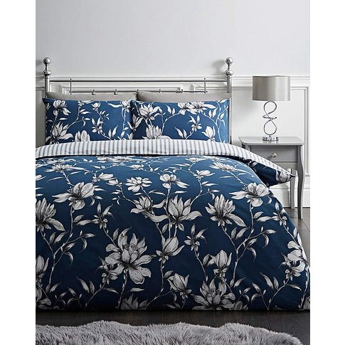 Portia Navy Duvet Set
