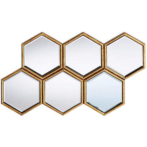 Laurenne Hexagon Cluster Mirror