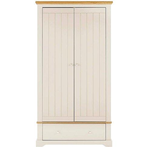 Hampton 2 Door 1 Drawer Wardrobe