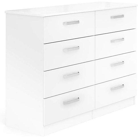 Kendal Assembled 4 Plus 4 Drawer Chest