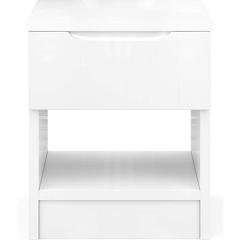 Sorrento Assembled Gloss Side Table