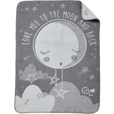 Clair De Lune Over The Moon Blanket