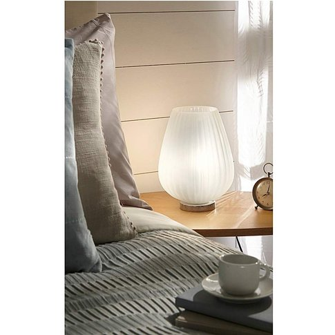 Pari Frosted Table Lamp