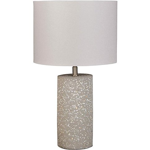 Speckled Table Lamp- Grey