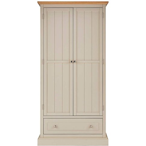 Charlbury 2 Door 1 Drawer Wardrobe
