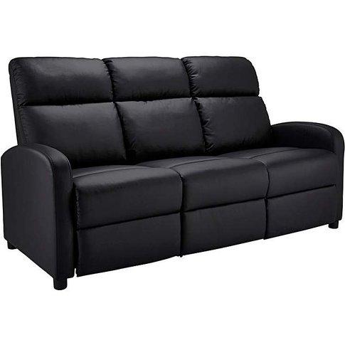 Hudson 3 Seater Recliner Sofa
