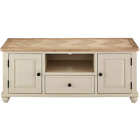 Charingworth Parquetry Wide Tv Unit