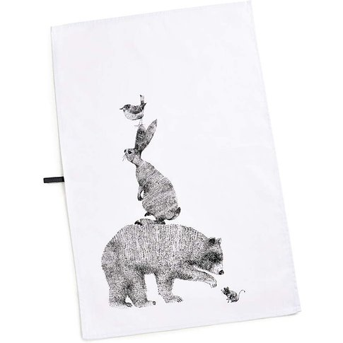 Pimpernel Let's Go Wild! Tea Towel