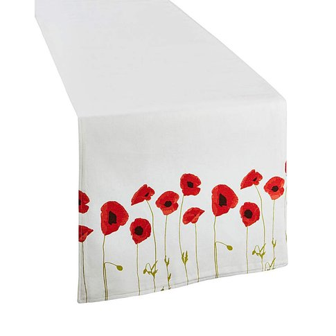 Poppies Table Runner