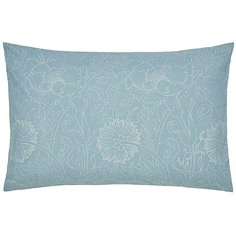 Morris & Co Pink & Rose Teal Pillowcases