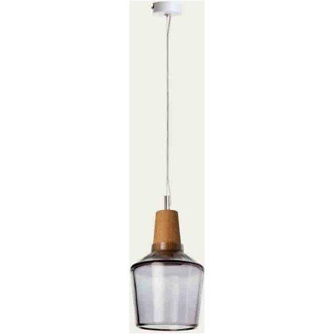 Anthracite Industrial 15/16p Ceiling Lamp
