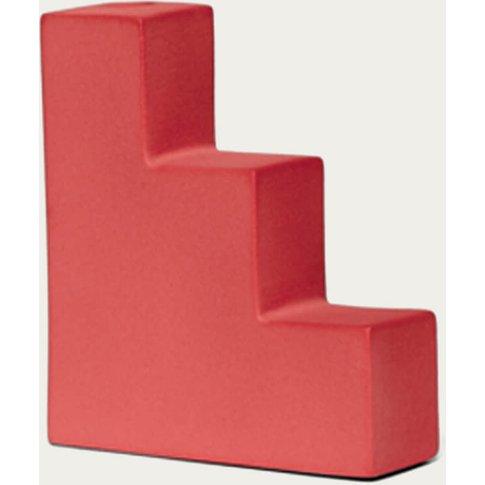 Red Stair Vase