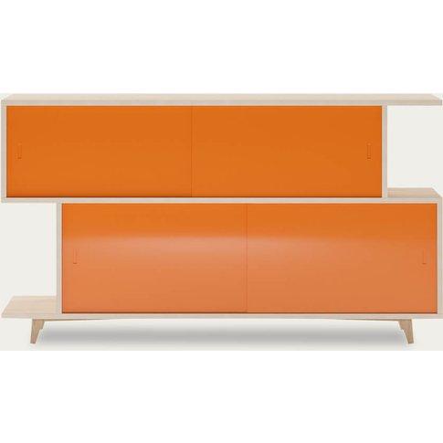 Ash/Orange Sideboard