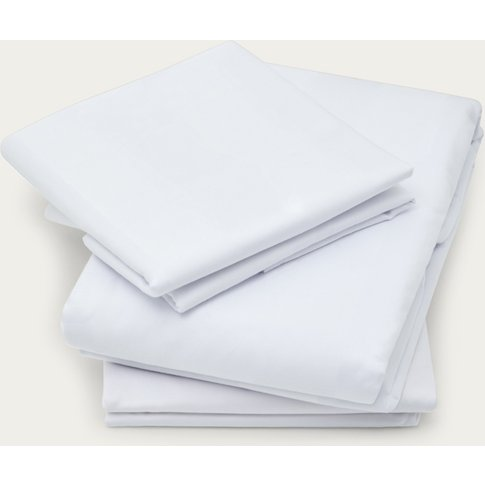 White The Excellence Collection Fitted Sheet