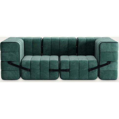 Green Curt Sofa System 7 Modules - Barcelona