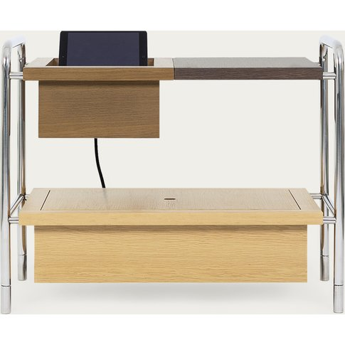 Samuel Side Table W/ Charging Box