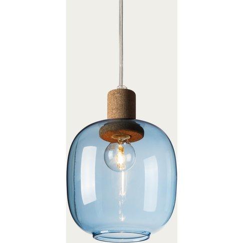 Blue Glass Picia Pendant Lamp