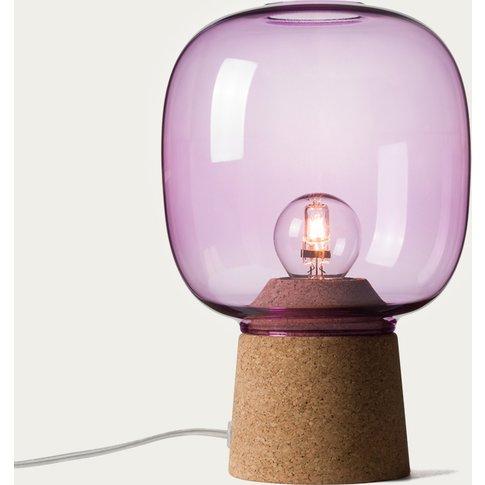 Purple Glass Picia Pendant Lamp