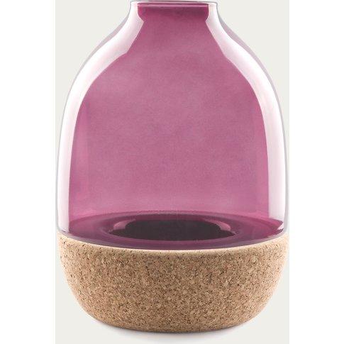 Purple Glass Pitaro Vase