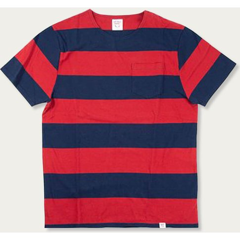 Dusty Red Shade Stripes No Bad Days T-Shirt