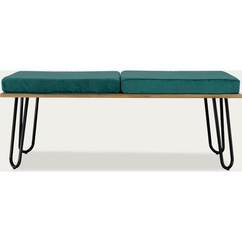 Turquoise Bench Corgi I Black Fst0254
