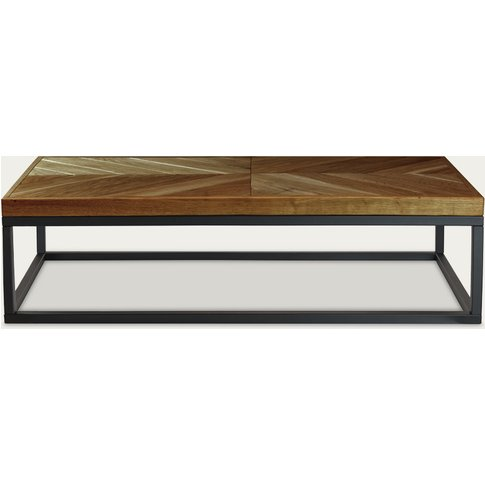 Brown Coffee Table Zig-Zag A-I Fct0283